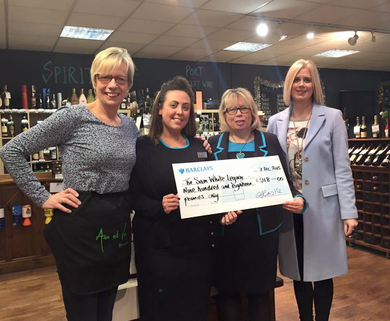 Shirt Sleeves and Ann et Vin Fashion Show raised £1,836 for the Sam White Legacy
